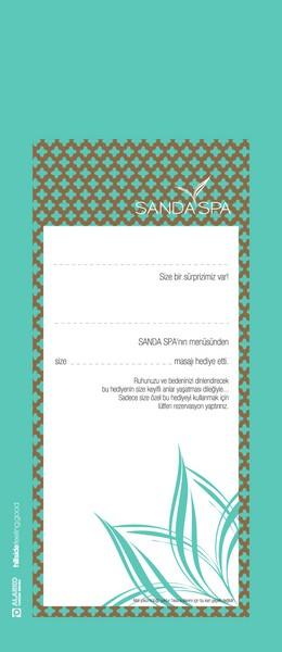 Sanda Spa - Hediye Çeki