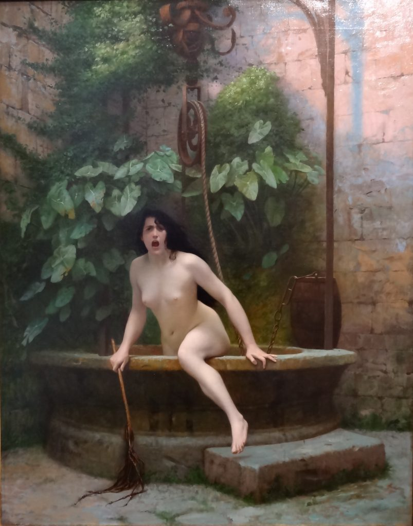 Jean Leon Gerome / Kuyudan Çıkan Gerçek (Truth Coming Out of Her Well) - 1896